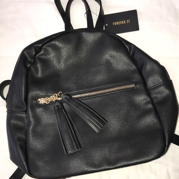 Forever 21 Handbags - NEW black mini backpack